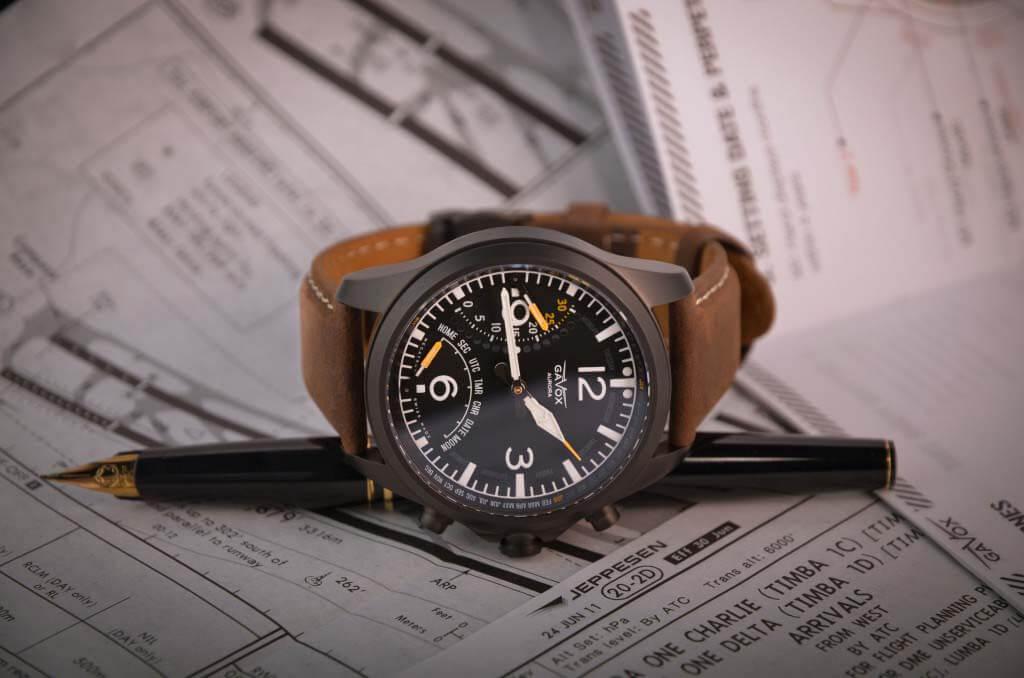 gavox aurora pilot watch