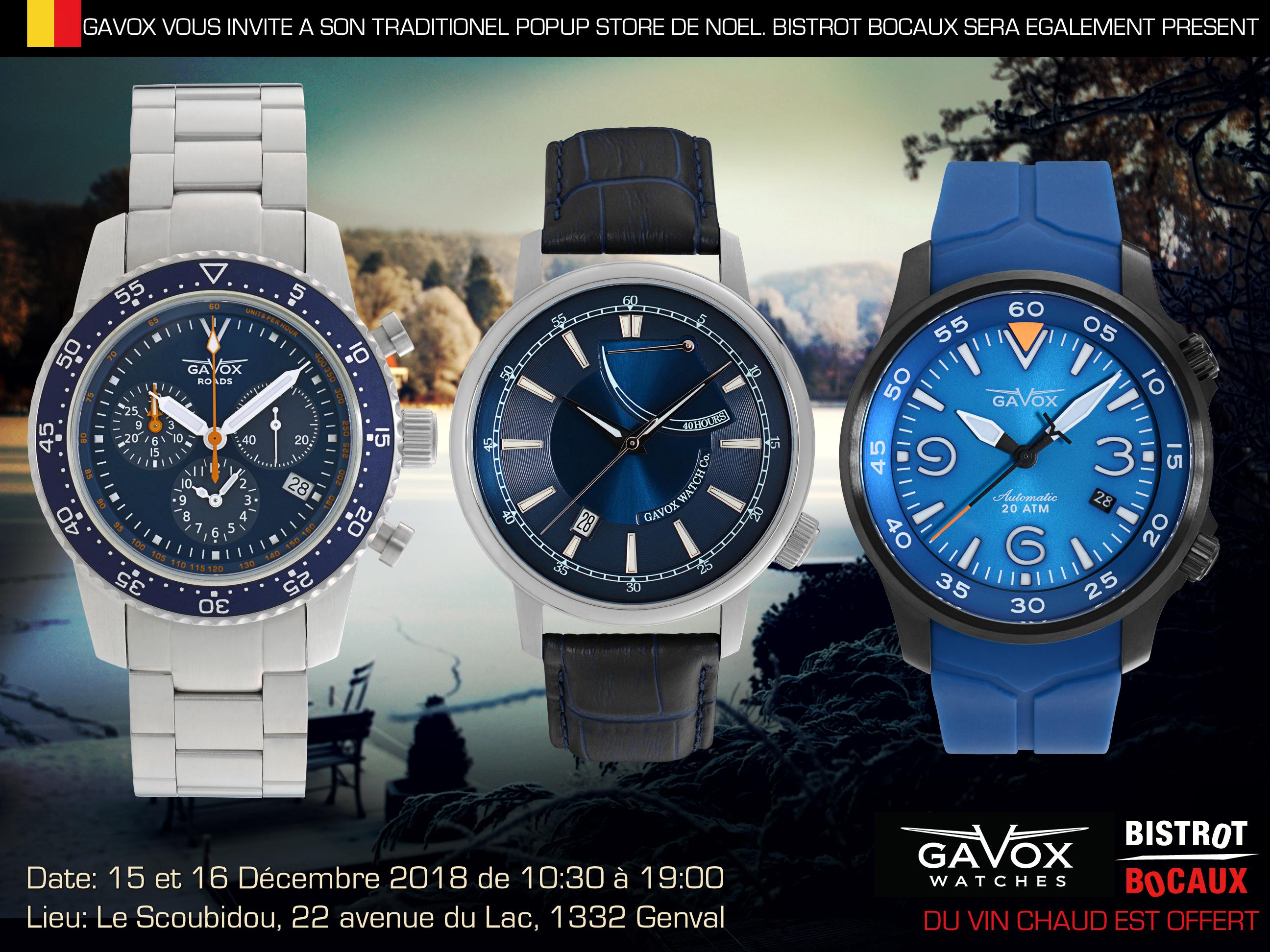 Invitation To The Gavox Pop Up Store 15 16 December Belgium