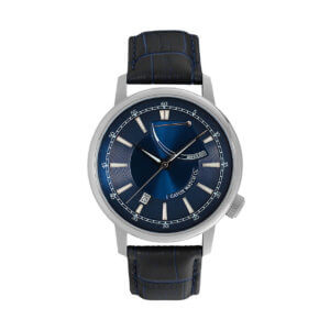 ultima necat blue power reserve watch