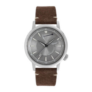 ultima necat grey power reserve watch